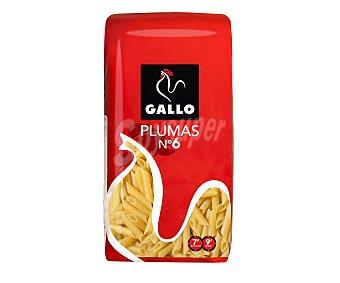 Gallo Pasta plumas N.6 250 GRS