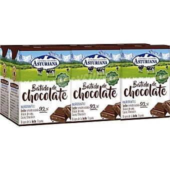 Central Lechera Asturiana Batido de cacao Pack 3 briks x 200 ml