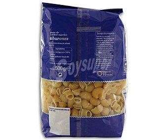 Auchan Tiburones, pasta de sémola de trigo duro de calidad superior Paquete de 500 gramos
