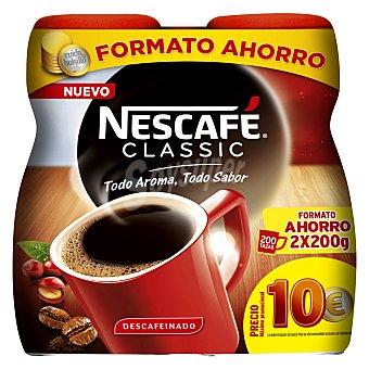 Nescafé Café soluble descafeinado Pack de 2x200 g