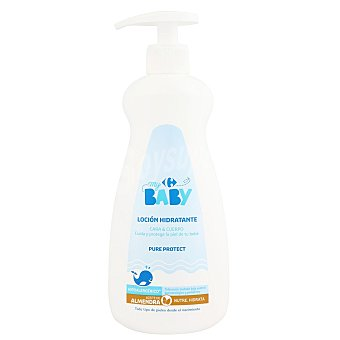 Carrefour Baby Crema corporal aceite de almendra 500 ml