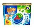 Detergente en cápsulas, 4 en 1 50 uds.x 25 g Wipp Express