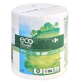 Carrefour Eco Planet Papel de cocina 2 capas maxi ecológico 1 rollo