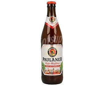Paulaner Cerveza de trigo sin alcohol Botellín de 50 cl