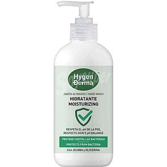 HYGEN DERMA Jabón de manos hidratante con jojoba y glicerina Dosificador 390 ml