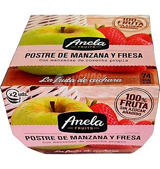 Anela Postre manzana fresa 200 g