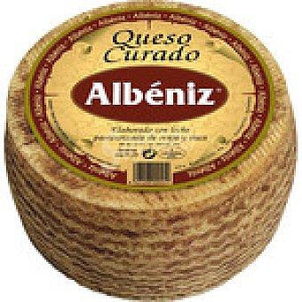 Albeniz Queso mezcla curado elaborado con leche pasteurizada de oveja y vaca  Pieza 3 kg