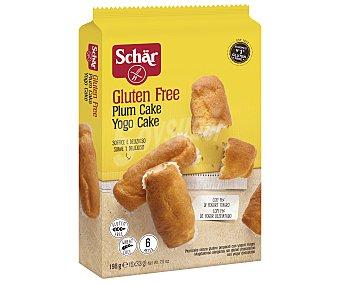 Schär Plum cake sin gluten Bolsa 198 g