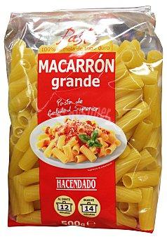 HACENDADO Macarrón grande pasta PAQUETE 500 g