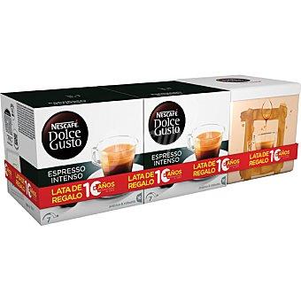 Dolce Gusto Nescafé Café expresso intenso capsulas -256G+REGAL 2x16ud