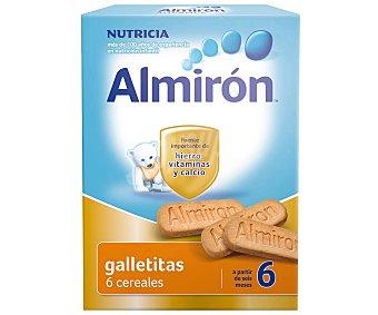 ALMIRÓN Galletitas 6 cereales, a partir de 6 meses 180 Gramos