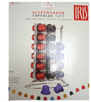 Carrefour Dispensador de caf 36 capsulas