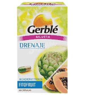 Gerble Cápsulas drenaje fitofruit 1 paquete de 60 ud