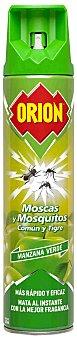 Orion Insecticida volador moscas y mosquitos comun y tigre manzana verde spray 600 ml Spray 600 ml