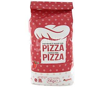 Auchan Preparado de harina para pizza 1 kilogramo