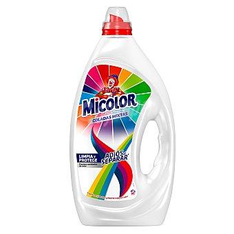Micolor Detergente en gel para lavadora ropa a color Adiós al separar micoloer 60 dosis