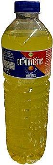 Hacendado Bebida isotónica naranja Botella 1,5 l