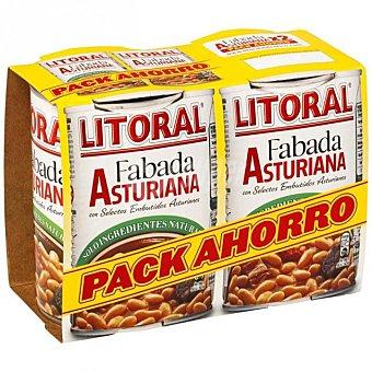 Litoral Fabada Asturiana  Pack 2 latas x 430 g