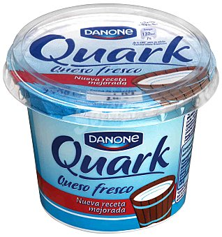Danone Queso fresco natural de vaca quark Tarrina de 250 g