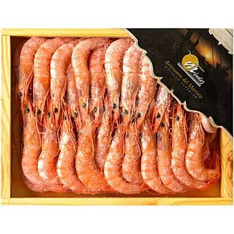 MARISCOS MENDEZ Gamba cocida de Huelva Caja 500 g