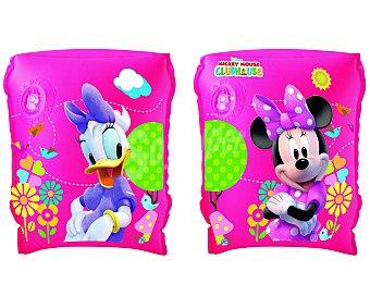 Disney Manguitos hinchables infantiles de Minnie de 23x15 centimetros, recomendados para niños de 3 a 6 años 1 unidad