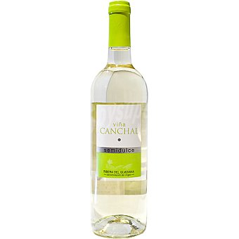 Viña Canchal Vino blanco semidulce Extremadura botella 75 cl Botella 75 cl