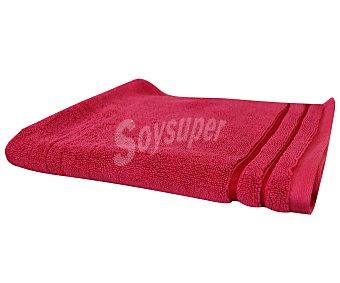 Actuel Alfombra tejido rizo 100% algodón color rosa fucsia, densidad de 1000 gramos/metro², 50x70 centímetros 1 unidad