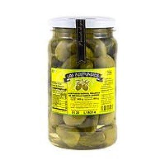 Los Aceituneros Aceitunas con pepinillo s/ anchoa Frasco 700 g