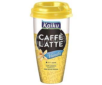 Kaiku Bebida láctea pasteurizada de café con leche y vainilla 230 mililitros
