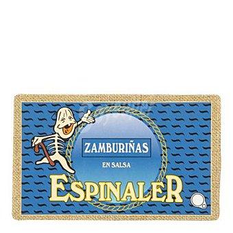 Conservas Espinaler Zamburiñas en salsa 85 g