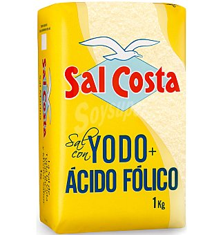 Sal Costa Yodo + acido folico 1 KG