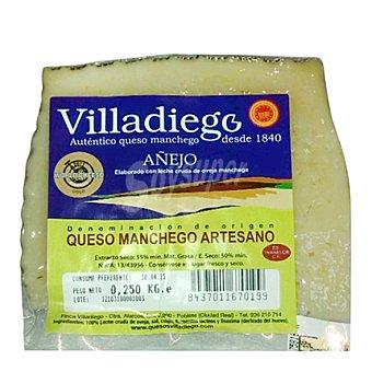 Villadiego Queso manchego artesano añejo 250 g
