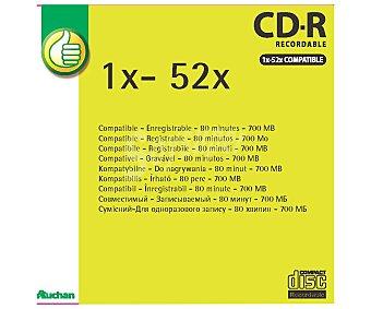 Productos Económicos Alcampo Cd-r 80 52x (producto económico alcampo) 1und
