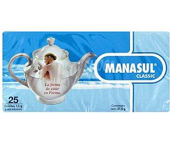 MANASUL Infusión té, facilita el tráfico intestinal 25 Bolsitas de 1,5 g