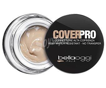 BELLAOGGI COVERPRO Corrector facial de alta cobertura y larga duración, tono 302 Medium tone fair Coverpro.