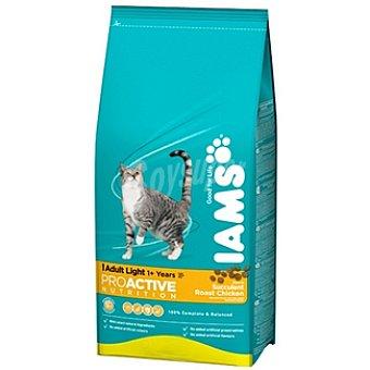 IAMS PROACTIVE NUTRITION LIGHT Alimento completo especial para gatos con tendencia al sobrepeso con pollo Bolsa 1,5 kg
