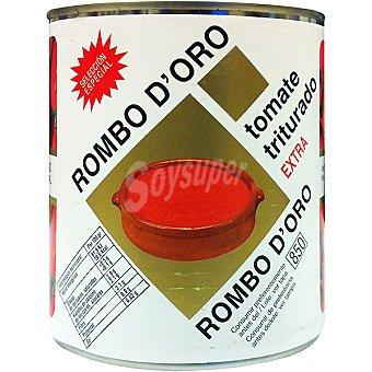 ROMBO D'ORO Tomate triturado extra Lata 800 g neto escurrido