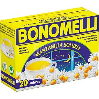 Bonomelli Manzanilla soluble azucarada 20 sobres estuche 100 g Estuche 100 g