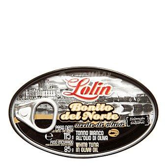Conservas Lolin Tronco de bonito del norte en aceite de oliva 85 g