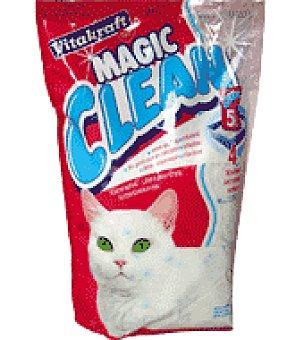 Magic Perlas de silice para gato Clean Paquete de 2,2 kg