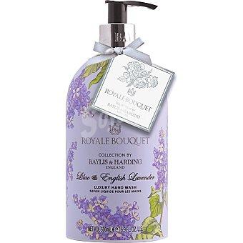 BAYLIS & HARDING Royale Bouquet jabón líquido de manos Lila y Lavanda  frasco 500 ml