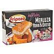 Merluza empanada rellena de jamón y queso Mis platos Caja 360 g (4 u) Fripozo