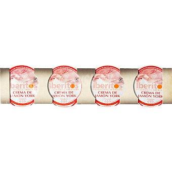 Iberitos Crema de jamón curado 4x25 envase envase 100 g