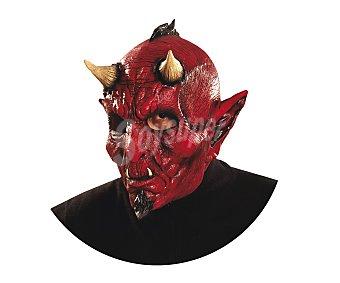 MY OTHER ME Complemento para disfraz Halloween, máscara de cara completa Diablo Maligno Máscara Diablo