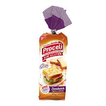 Proceli Pan sándwich - Sin Gluten 400 g