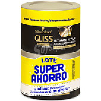 Gliss LOTE AHORRO MASCARILLA ULTIMATE REPAIR 2 UNIDADES 200 ML