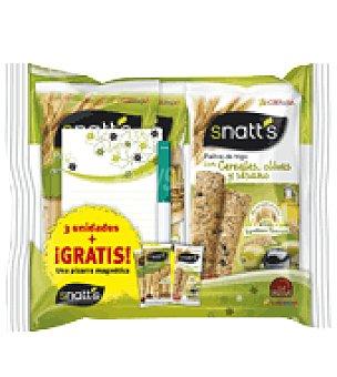 GREFUSA SNATT'S Palitos pipas + palitos olivas 189 g