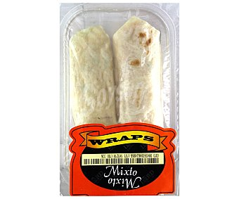 Lord Sandwiches Wrap Mixto Salsa 160 Gramos