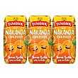 Zumo de naranja exprimida Pack 3 briks 200 ml Zumosol