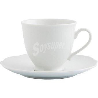 BIDASOA Baroque juego de 2 tazas de té con platos